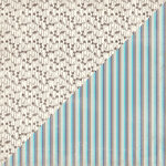 Authentique Paper - Swaddle Boy Collection - 12 x 12 Double-Sided Paper - Four