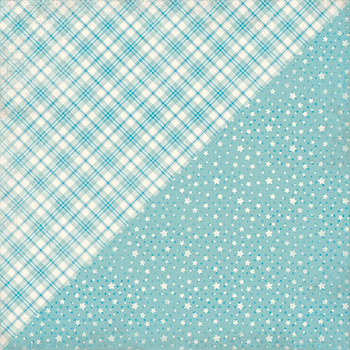 Authentique Paper - Swaddle Boy Collection - 12 x 12 Double-Sided Paper - Five