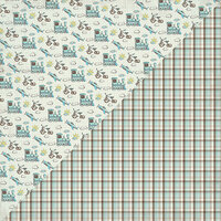 Authentique Paper - Swaddle Boy Collection - 12 x 12 Double-Sided Paper - Six