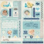 Authentique Paper - Swaddle Boy Collection - Elements