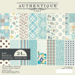 Authentique Paper - Swaddle Boy Collection - 6 x 6 Paper Pad Bundle