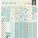 Authentique Paper - Swaddle Boy Collection - 12 x 12 Collection Kit