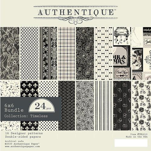 Authentique Paper - Timeless Collection - 6 x 6 Paper Pad Bundle