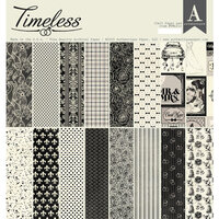 Authentique Paper - Timeless Collection - 12 x 12 Paper Pad