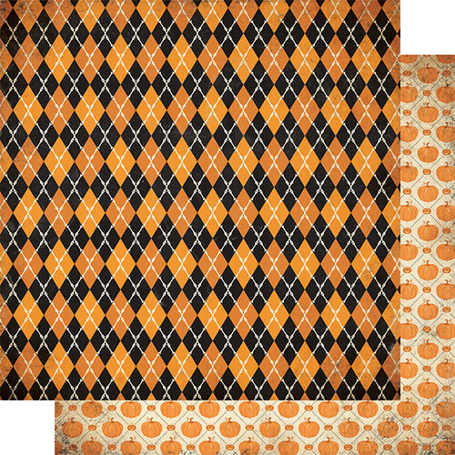 Authentique Paper - Halloween - Twilight Collection - 12 x 12 Double Sided Paper - One