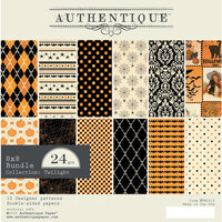 Authentique Paper - Halloween - Twilight Collection - 8 x 8 Paper Pad Bundle