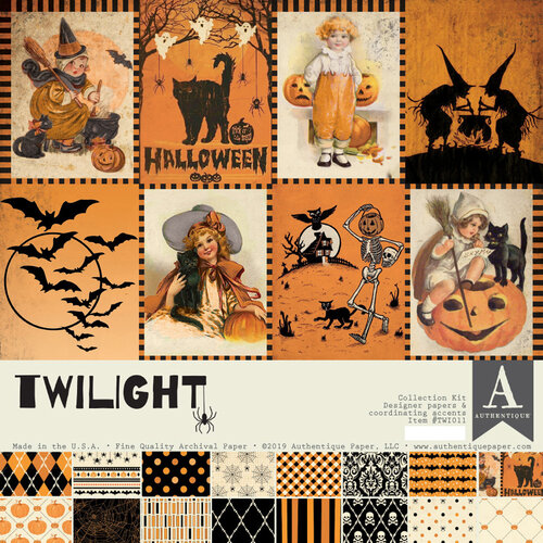 Authentique Paper - Halloween - Twilight Collection - 12 x 12 Collection Kit