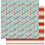 Authentique Paper - Voyage Collection - 12 x 12 Double Sided Paper - One