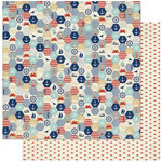 Authentique Paper - Voyage Collection - 12 x 12 Double Sided Paper - Two