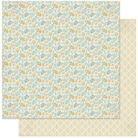 Authentique Paper - Voyage Collection - 12 x 12 Double Sided Paper - Eight