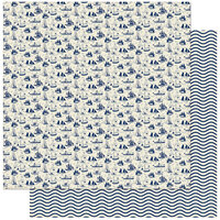 Authentique Paper - Voyage Collection - 12 x 12 Double Sided Paper - Nine