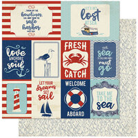 Authentique Paper - Voyage Collection - 12 x 12 Double Sided Paper - Twelve