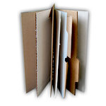 Basically Bare - Basically Embellies - Bare Booklets - Mixed Media Album - Funky Findings