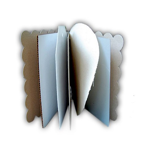 Basically Bare - Basically Embellies - Bare Booklets - Mixed Media Album - Simply Shapely