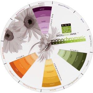 Bazzill Basics Monochromatic Color Wheel, CLEARANCE
