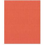 Bazzill Basics - 8.5 x 11 Cardstock - Canvas Texture - Flamingo