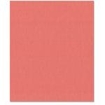 Bazzill Basics - 8.5 x 11 Cardstock - Grasscloth Texture - Passionate