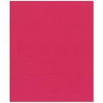 Bazzill Basics - 8.5 x 11 Cardstock - Smooth Texture - Berry Sensation
