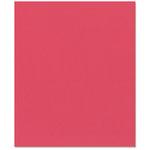 Bazzill Basics - 8.5 x 11 Cardstock - Orange Peel Texture - Strawberry