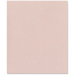 Bazzill Basics - 8.5 x 11 Cardstock - Dotted Swiss Texture - Sunset Rose