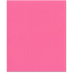Bazzill Basics - 8.5 x 11 Cardstock - Orange Peel Texture - Pink Fairy