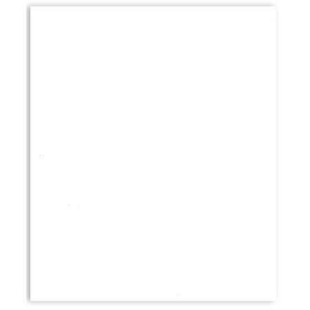 Bazzill Basics - 8.5 x 11 Cardstock - Classic Texture - White