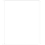 Bazzill Basics - 8.5 x 11 Cardstock - Classic Texture - White