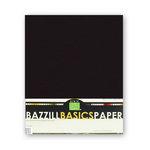 Bazzill Basics - Bulk Cardstock Pack - 25 Sheets - 8.5x11 - Raven