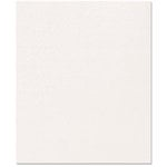 Bazzill - 8.5 x 11 Wedding Cardstock - White Wedding Pin Stripe