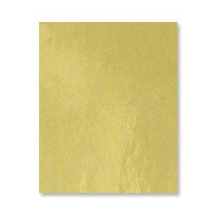 Bazzill Basics - 8.5 x 11 Gold Foil Cardstock