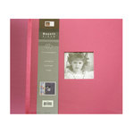 Bazzill Basics Album Collection - 12x12 Postbound - Hot Pink