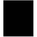Bazzill Basics - 8.5 x 11 Cardstock - Classic Texture - Ebony