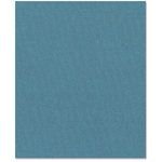 Bazzill Basics - 8.5 x 11 Cardstock - Canvas Bling Texture - Crystal Blue