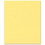 Bazzill Basics - Prismatics - 8.5 x 11 Cardstock - Dimpled Texture - Frosted Yellow, CLEARANCE