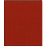 Bazzill Basics - 8.5 x 11 Cardstock - Grasscloth Texture - Red Devil
