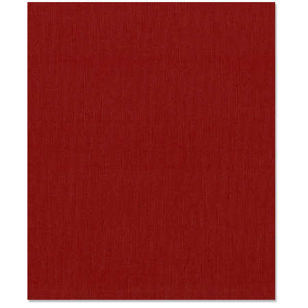 Bazzill Basics - 8.5 x 11 Cardstock - Grasscloth Texture - Ruby Slipper