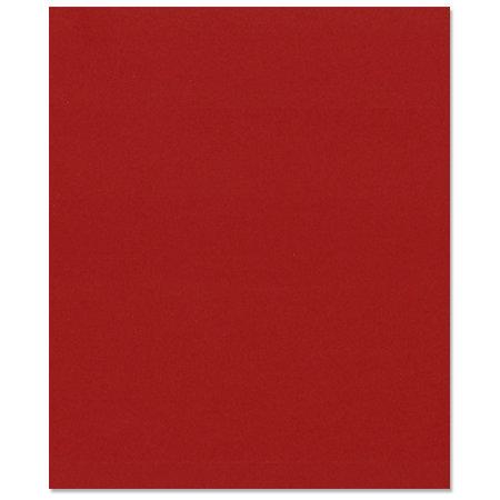 Bazzill Basics - 8.5 x 11 Cardstock - Smooth Texture - Cherry Splash
