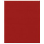Bazzill Basics - 8.5 x 11 Cardstock - Smooth Texture - Cherry Splash