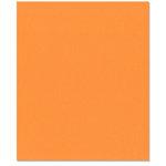 Bazzill Basics - 8.5 x 11 Cardstock - Orange Peel Texture - Hazard