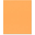 Bazzill Basics - 8.5 x 11 Cardstock - Orange Peel Texture - Creamsicle