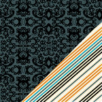 Bazzill Basics - Janet Hopkins - Arsenic and Lace Collection - 12 x 12 Double Sided Paper - Lace