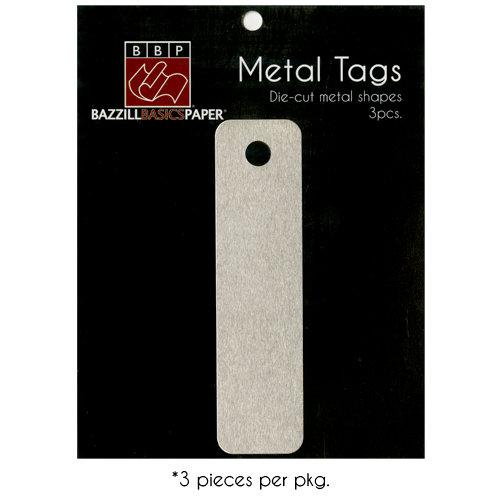 Bazzill Basics - Metal Tags - Designer Tag