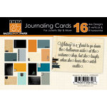 Bazzill Basics - Janet Hopkins - Arsenic and Lace Collection - Lickety Slip - 4 x 6 Journaling Cards