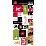 Bazzill Basics - Sweetwater - Countdown to Christmas Collection - Cardstock Stickers