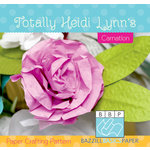 Bazzill - Paper Crafting Pattern - Carnation