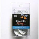 Bazzill Basics - Really Big Brads - 25 mm - White, CLEARANCE