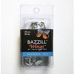 Bazzill Basics - Really Big Brads - 10 mm - White, CLEARANCE