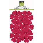 Bazzill Basics - Paper Shapes - Flowers - 6 Pieces - Primula - Lollipop