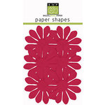 Bazzill Basics - Paper Shapes - Flowers - 6 Pieces - Gerbera - Lollipop