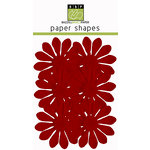Bazzill Basics - Paper Shapes - Flowers - 6 Pieces - Gerbera - Phoenix